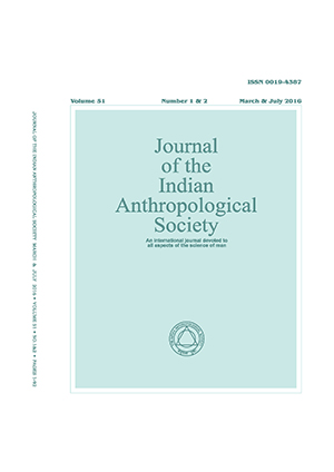 Journal of the Indian Anthropological Society